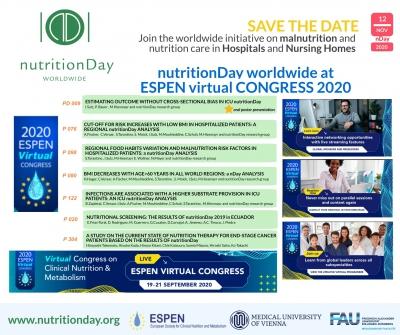 nDay worldwide at ESPEN Virtual CONGRESS 2020